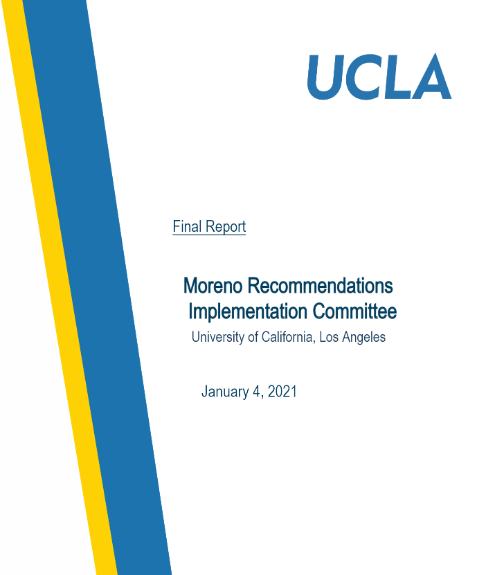 Final Report of the Moreno Recommendations Implementation Committee