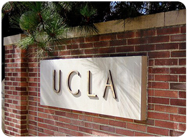 photo of ulca sign on brick wall